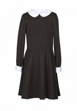 Платье Sky Lake. Цвет: коричневый