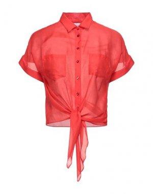 Pубашка CARACTÈRE. Цвет: красный