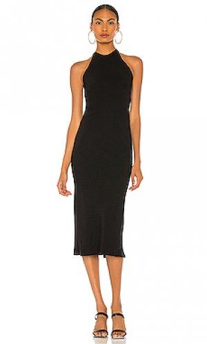 Платье миди otalia IRO. Цвет: черный