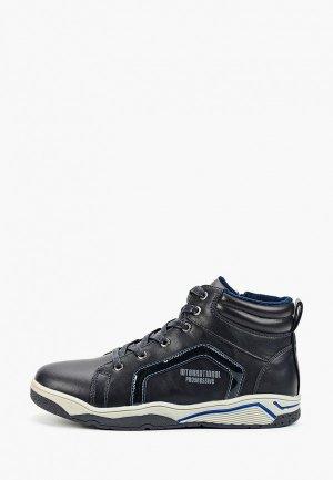 Ботинки для танцев Сказка. Цвет: синий