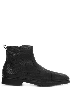 Ботинки кожаные на меху ALDO BRUE`