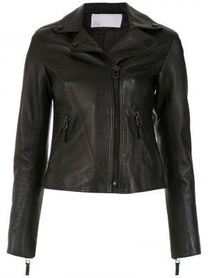 Кожаная куртка Nk. Цвет: черный