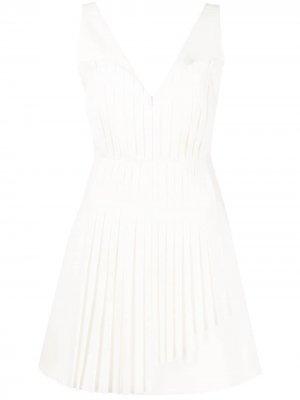 Платье мини Fosetta Alexis. Цвет: белый