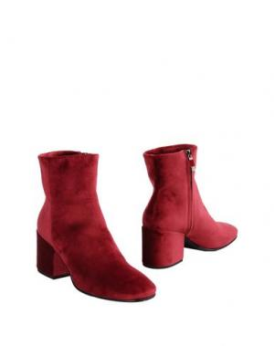 Полусапоги и высокие ботинки ALBERTO FERMANI. Цвет: пурпурный