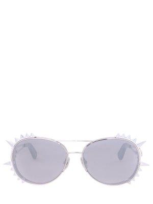 Очки солнцезащитные Philipp Plein. Цвет: разноцветный