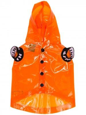 Дождевик для домашнего питомца из коллаборации с V.I.P Heron Preston. Цвет: orange