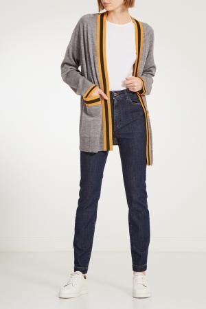 Зауженные синие джинсы Dolce&Gabbana. Цвет: синий