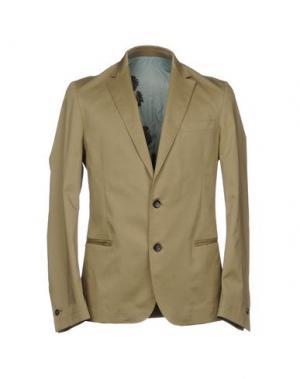 Пиджак LOW BRAND. Цвет: бежевый