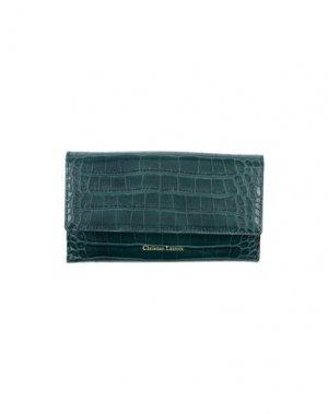 Бумажник CHRISTIAN LACROIX. Цвет: зеленый