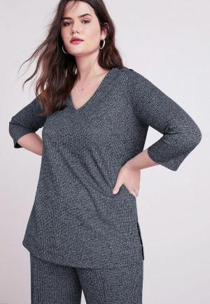 Пуловер Violeta by Mango - JANET. Цвет: серый