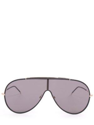 Солнцезащитные очки TOM FORD. Цвет: черный