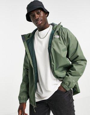 Утепленная куртка цвета хаки Quest-Зеленый цвет The North Face