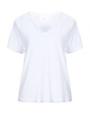 Футболка JEFF. Цвет: белый