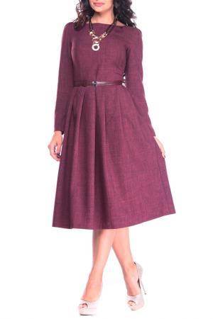 Платье MAURINI. Цвет: сливовый
