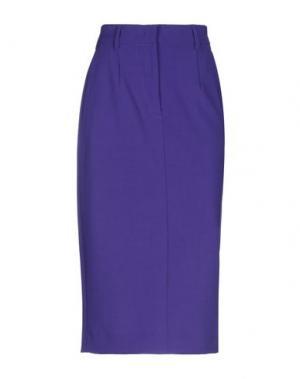 Юбка длиной 3/4 ATTIC AND BARN. Цвет: фиолетовый