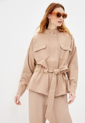 Куртка Ichi. Цвет: коричневый