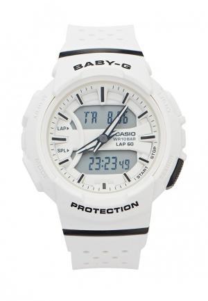 Часы Casio Baby-G BGA-240-7A. Цвет: белый
