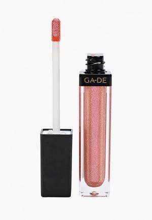 Блеск для губ Ga-De CRYSTAL LIGHTS No.810. Цвет: розовый