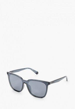 Очки солнцезащитные Polaroid PLD 6154/F/S KB7. Цвет: серый