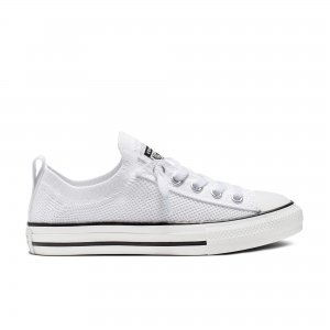 Chuck Taylor All Star Slip Knit Converse. Цвет: белый