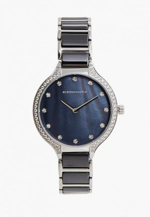 Часы BCBGMaxAzria. Цвет: черный