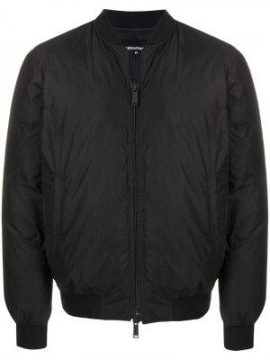 Утепленная куртка-бомбер Icon Dsquared2. Цвет: черный