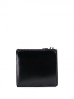 Бумажник с логотипом Maison Margiela. Цвет: черный