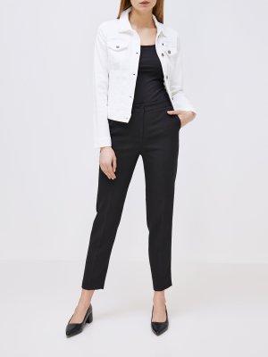Джинсовая куртка Armani Exchange. Цвет: belyy