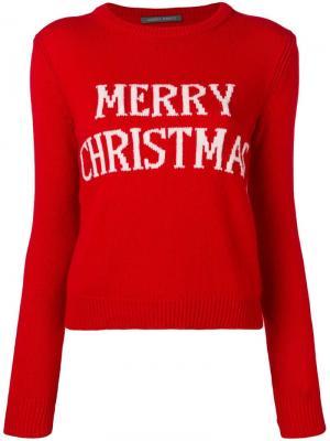 Вязаный джемпер Merry Christmas Alberta Ferretti