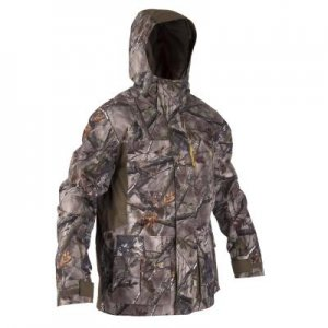Теплая Водонепроницаемая Камуфляжная Куртка Для Охоты 500 SOLOGNAC