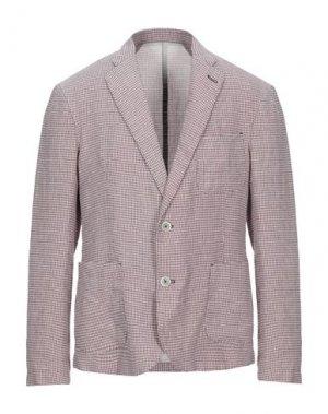 Пиджак 120%. Цвет: красный