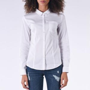 Рубашка с длинными рукавами KAPORAL. Цвет: белый