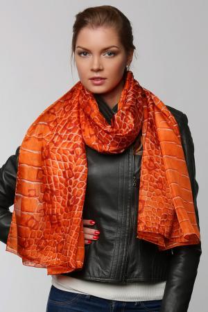 Палантин Gherardini. Цвет: оранжевый