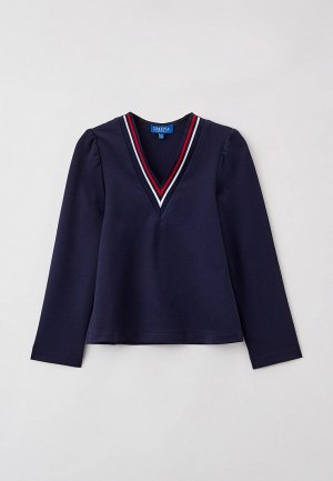 Пуловер Smena. Цвет: синий