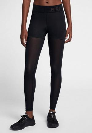 Тайтсы Nike PRO WOMENS TIGHTS. Цвет: черный