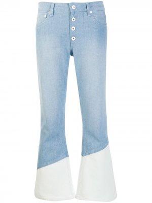 Расклешенные джинсы Each X Other. Цвет: синий