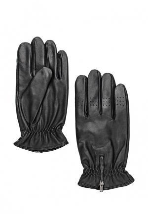 Перчатки Mango Man - TEO. Цвет: черный