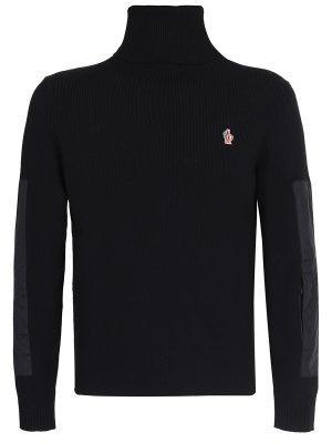 Комбинированный свитер MONCLER