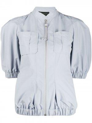 Куртка с короткими рукавами Mr & Mrs Italy. Цвет: серый