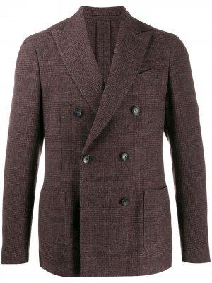 Delloglio двубортный пиджак Dell'oglio. Цвет: красный