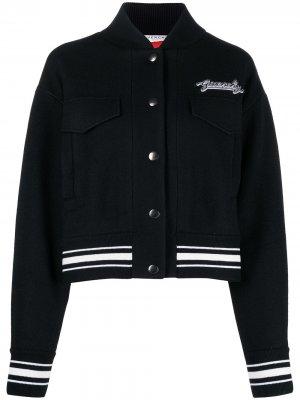 Бомбер с нашивкой-логотипом Givenchy. Цвет: черный