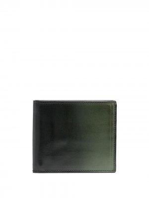 Бумажник с эффектом омбре Officine Creative. Цвет: зеленый