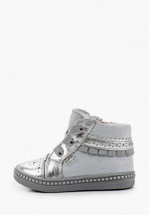 Ботинки Bartek. Цвет: серебряный