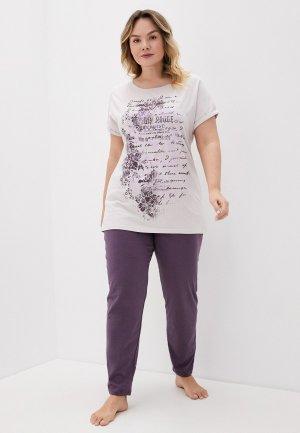 Пижама Lika Dress. Цвет: разноцветный