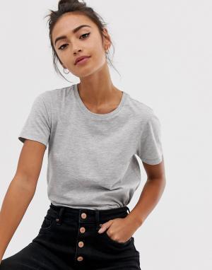 Серая футболка с круглым вырезом Ultimate ASOS DESIGN. Цвет: серый