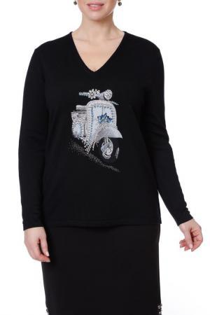 Пуловер LE FATE. Цвет: черный