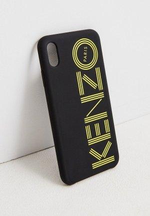 Чехол для iPhone Kenzo XS Max. Цвет: черный