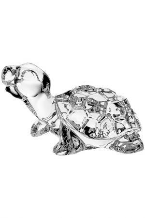 Фигурка Черепаха 9 см CRYSTAL BOHEMIA. Цвет: белый