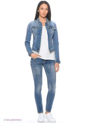 Куртка джинсовая DonDup. Цвет: голубой