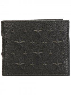 Бумажник Mark Jimmy Choo. Цвет: черный